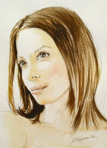Christy Turlington by chromescarab